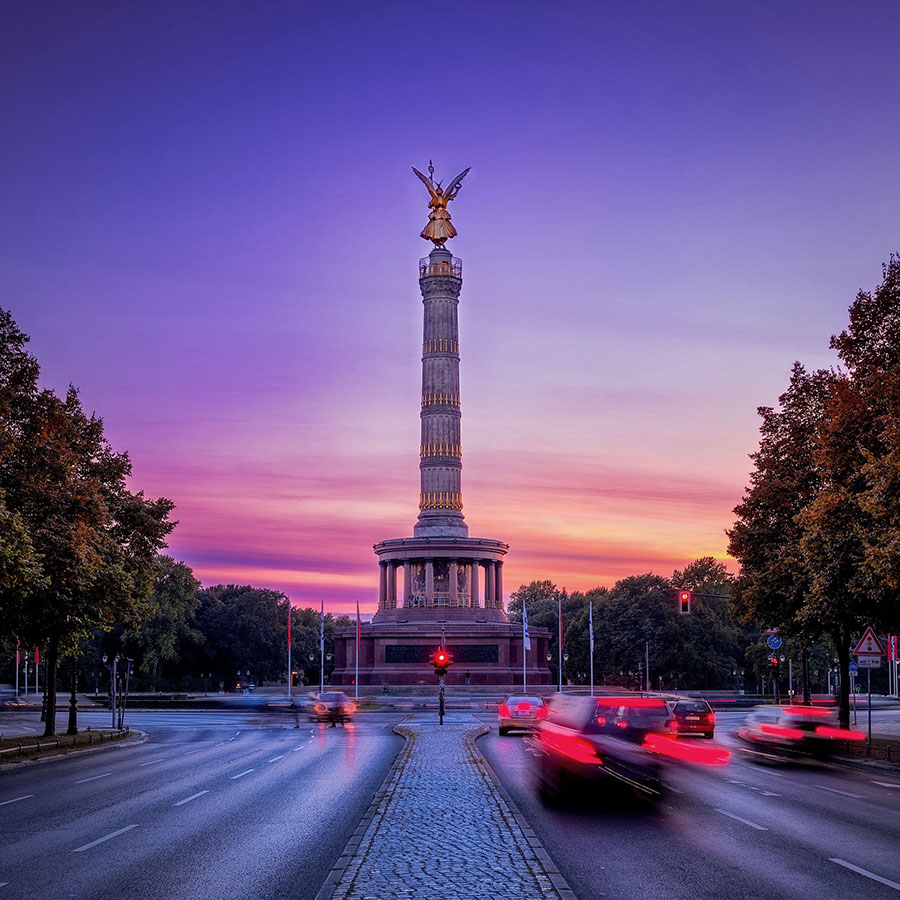 german-property - the picture shows the Victory Column in Berlin, Germany