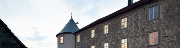 german-property - the picture shows part of the headquarters of the company german-property, the castle of Waldenburg in Germany