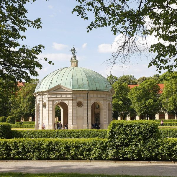 german-property - the picture shows a public park in Munich, Germany